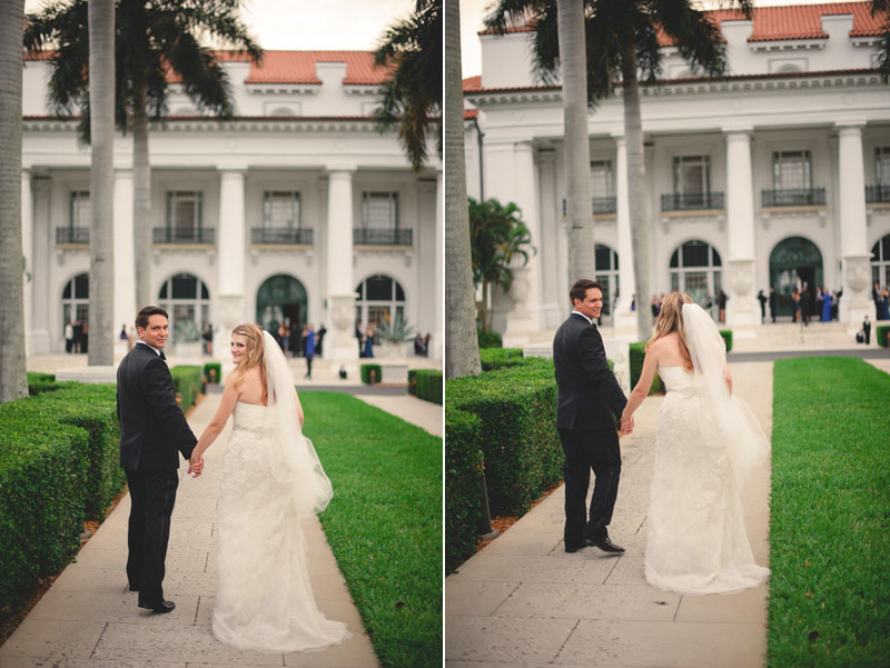 flagler museum wedding photos