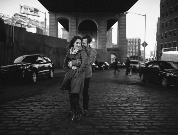 Jodie & Gary | Brooklyn Engagement Session