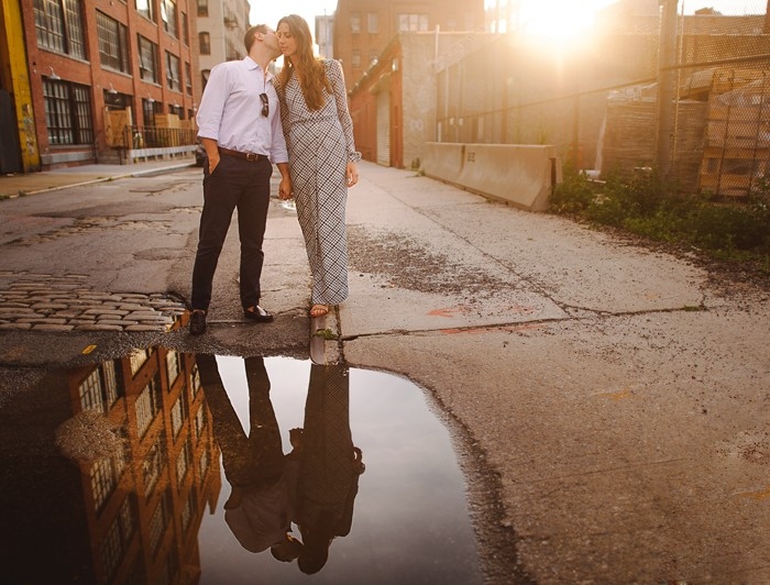Ashley & Collin | Brooklyn Engagement Session