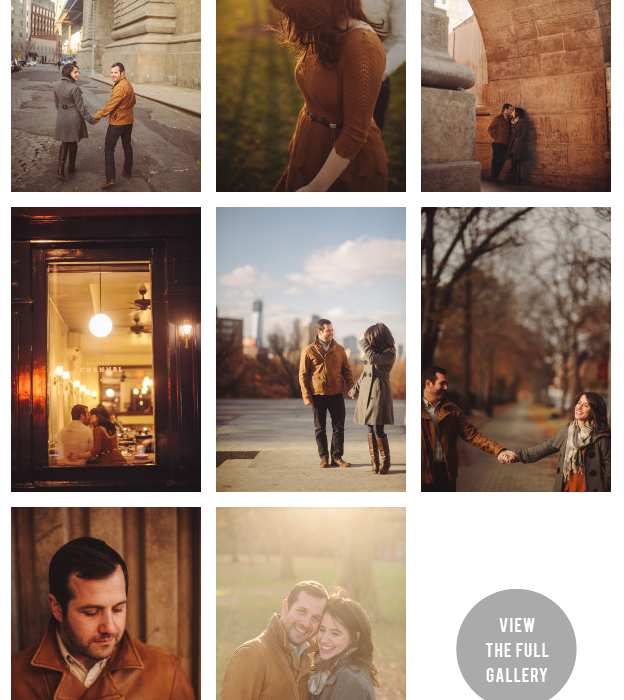 Brooklyn Engagement Session Featured on Style Me Pretty New York