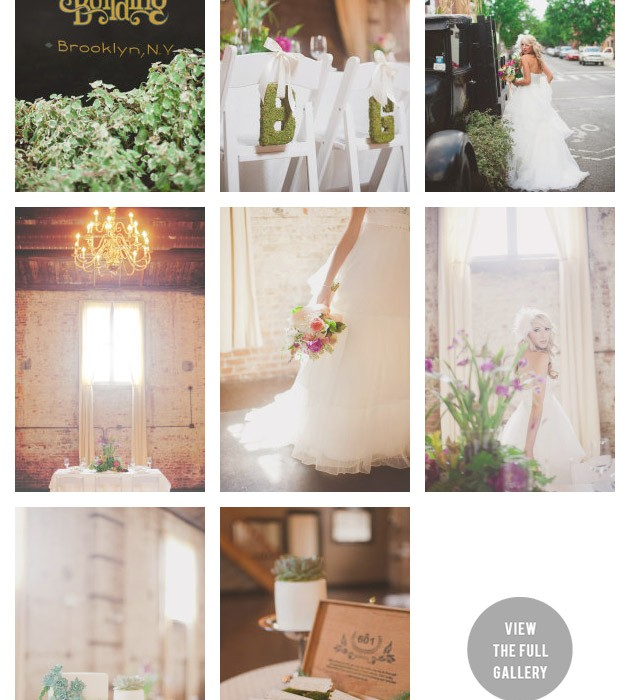 Green Building Wedding | Inspiration Shoot | Featured on SMP New York