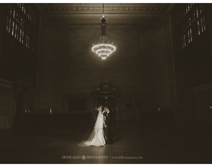 Grand Central Station Wedding Photography | Lauren & Steve
