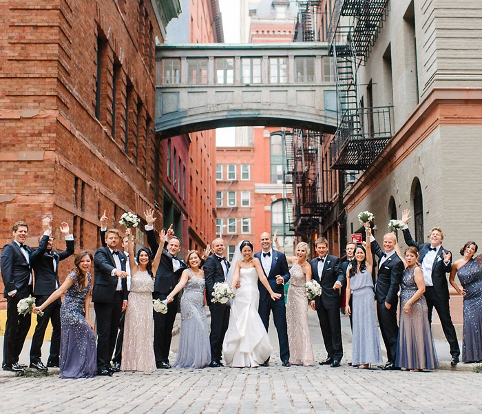 Tribeca Rooftop Wedding Photogrpaher