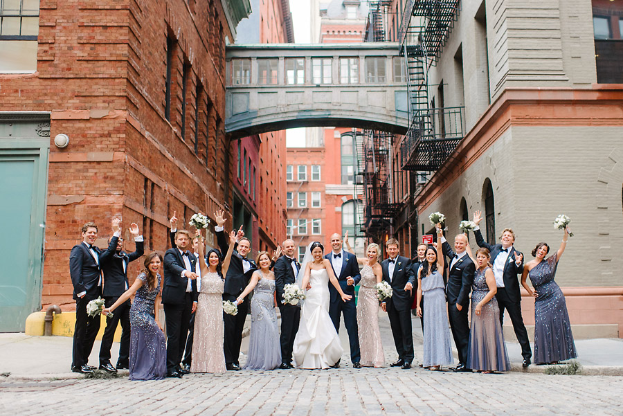 Tribeca Rooftop Wedding Photographer