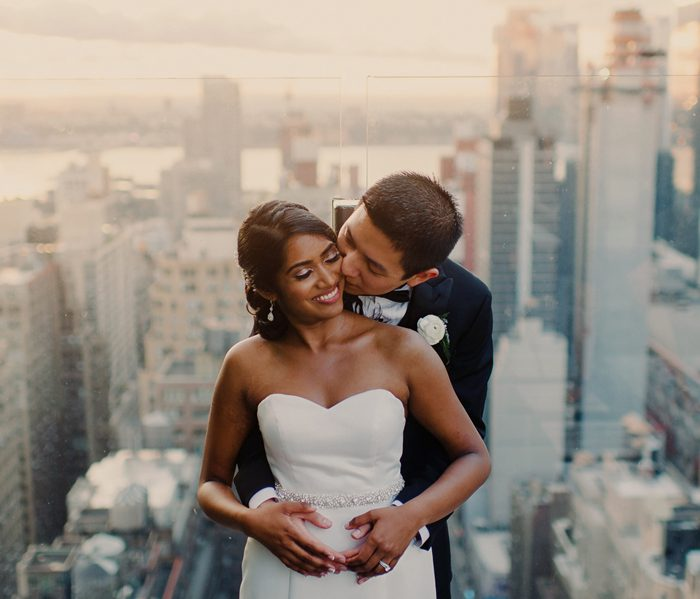 The Skylark Wedding - New York City Rooftop