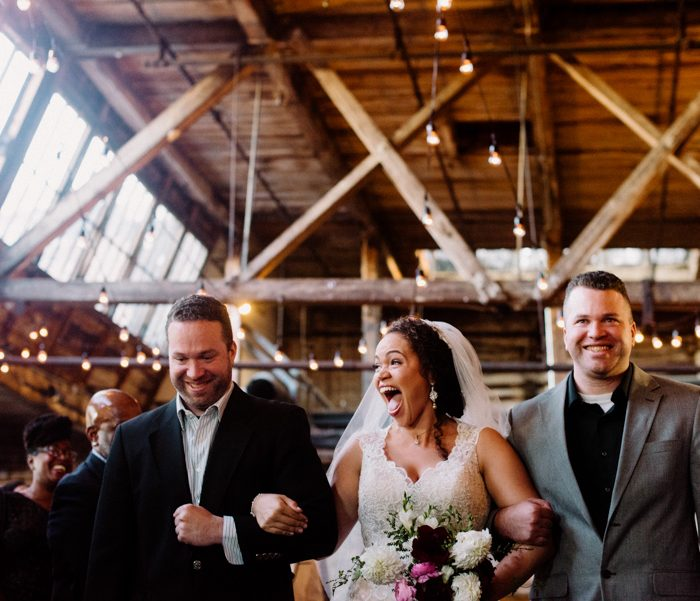 Brooklyn Greenpoint Loft Wedding