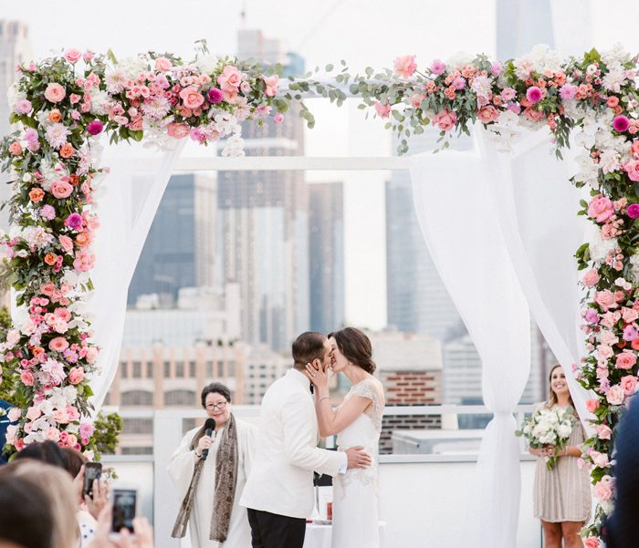 Tribeca Rooftop Wedding - Rachel & Ranjan