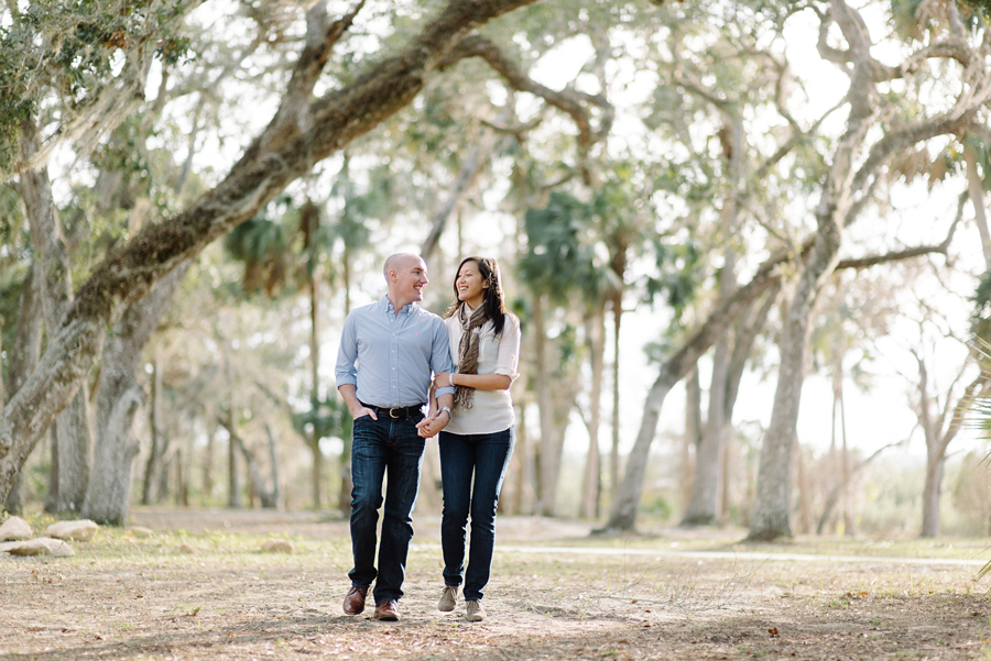 south florida engagement photos